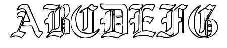 Ye Old Shire Outline Sample