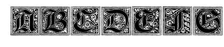 Camelot_Initials Sample