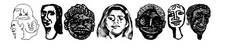 Faces Plain Sample
