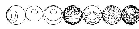 52 Sphereoids Sample