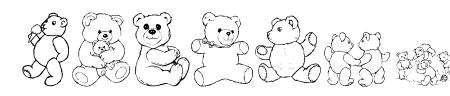 LCR Prestigious Teddies Sample