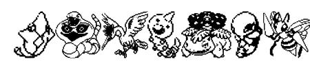 Pokemon pixels 1 Sample