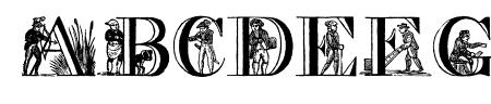 Picture Alphabet Sample