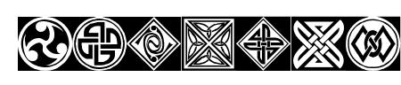 Orient Pattern Dings Set 1 Sample