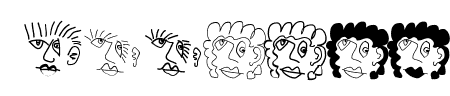 MKartoonHeads Sample