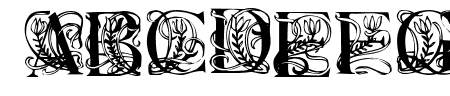 Elzevier Caps Regular Sample