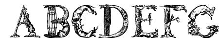 LettersAnimales Sample