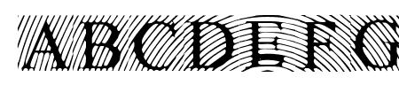 LowEngravedCapsLight Sample