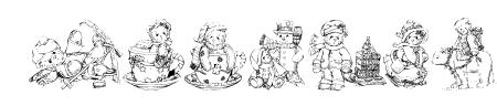 KR Holiday Teddies Three Sample