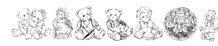 KR Adorable Teddies Sample