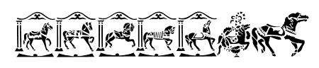 Carousel Horses Sample