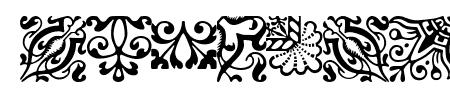 ACaslonOrnamentsModified Sample