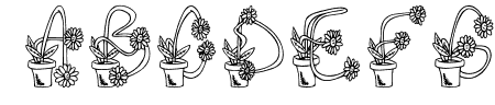 FlowerSketches Sample