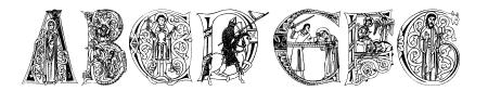 MedievalAlphabet Sample