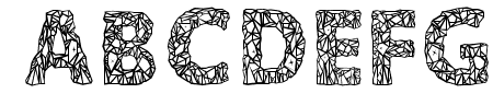 Crystalline Outline Sample