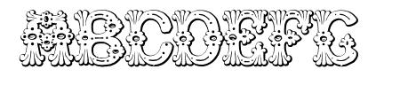 Grolier Beveled Sample