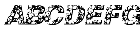 Skullvetica Sample