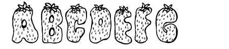Strawberry Regular Sample