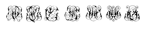 HardtoReadMonograms Sample