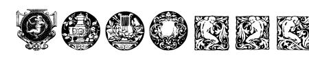 Cornucopia of Dingbats Four Sample