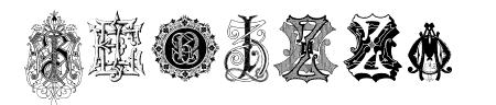 Intellecta Monograms Random Samples Eight Sample