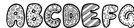 Doodle Gum Sample