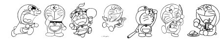 Doraemon-slalala Sample