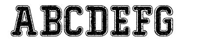 Typo College Dusty Demo Sample