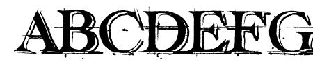 handwriting-draft-shaded demo Sample