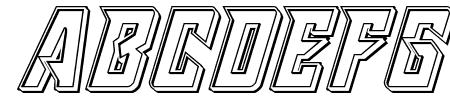 Raider Crusader Engraved Sample