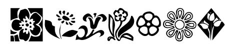 KR Kat's Flowers 2 Sample