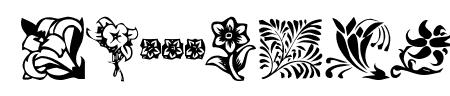 KR Fleurish Floral Sample