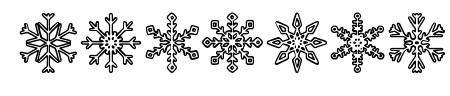 Snowflakes St Sample