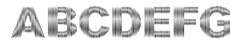 DCC-Stripes Sample