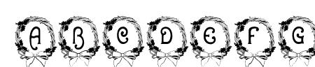 BJF Christmas Wreath Sample