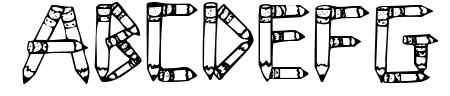 SketchPencils Sample