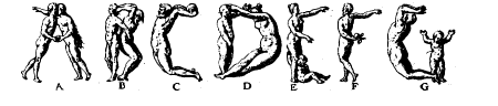 Human letters Sample