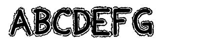 Ninjascript Electric DemiBold Sample