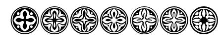 Circular Ornaments Regular Sample