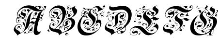 Uechi Italic Sample