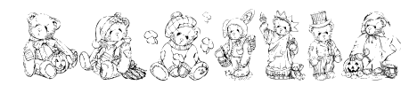 KR Holiday Teddies Sample
