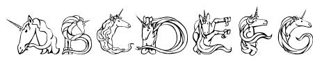 Magical Unicorn Light Sample