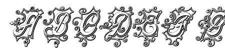CentennialScriptFancy Three Sample