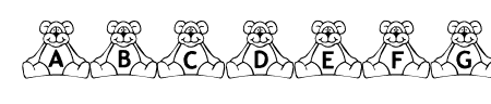 BillyBear TeddyBear Sample
