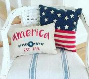 looking for the 'america' font on this pillow