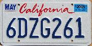 looking for the california font and plate number font please