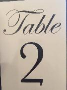 Help! Lost the table 6 so looking for this font to replace