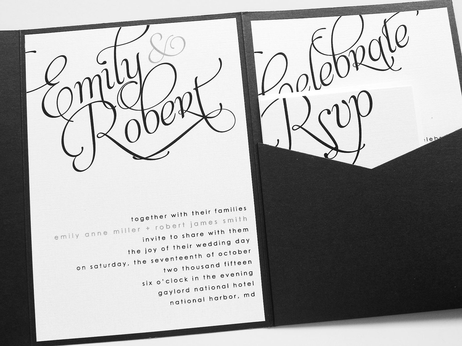Wedding Invitation font the font on the top half of the ima